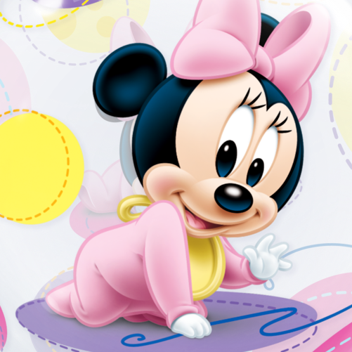 Baby Minnie Mouse Bubble Balloon | Free Delivery