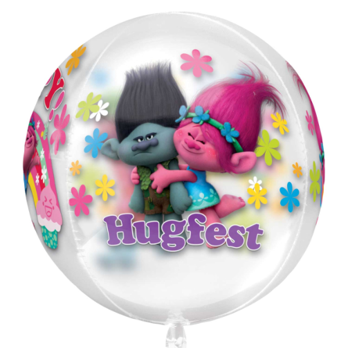 Trolls Orbz Foil Balloons Free Delivery