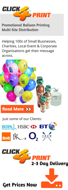 Custom Printed Balloons | Promotional Balloons | Balloon Printing | Advertising Balloons