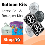 Helium Balloon Kits | Latex Balloon Kits | Foil Balloon Kits | Balloon Kits