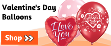 Valentines Day Balloons | Valentines Day Gift Balloons