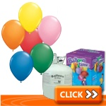"10"" Latex Balloon Kits"