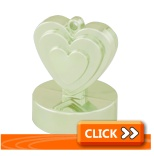 3.9oz Weights - Heart Shaped Range