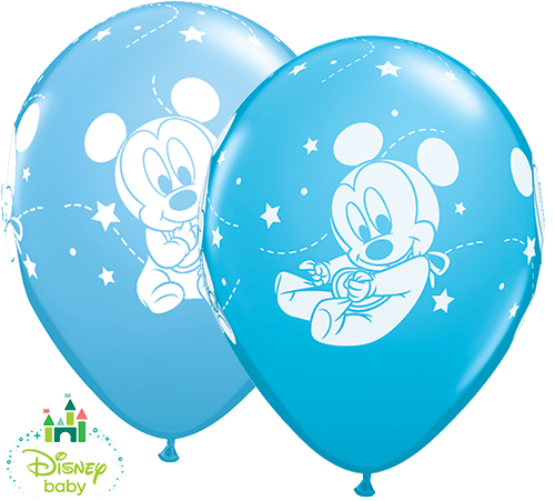 Baby Mickey Mouse Balloons Baby Mickey Mouse