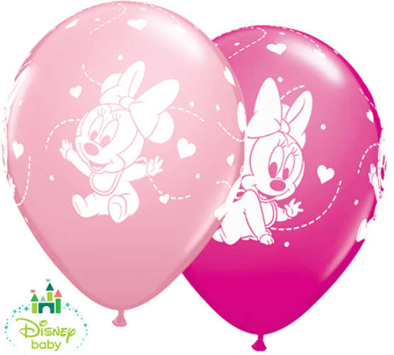 Bekend Baby Minnie Mouse Latex Balloons | 25pcs | Free Delivery LC-81