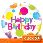 Birthday Foil Balloons - General