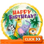 Birthday Foil Balloons - Kids