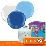 Plain Round-Shaped Foil Balloon Kits
