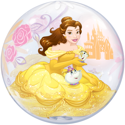 Princess Belle Bubble Balloon