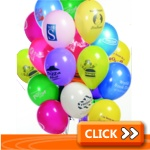 Printed Balloons - Customised Balloon Printing