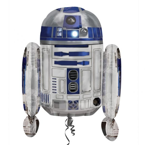 large foil star wars balloons r2d2 free delivery