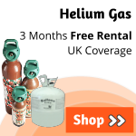 Helium Gas Cylinders | Helium Gas Tanks | Hire Helium Canisters | Balloon Gas